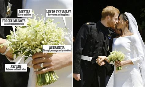 Forget A Fashion Tribute To Brzezinski The Who Should Be by Meghan Markle S Bouquet Had A Touching Tribute To Diana