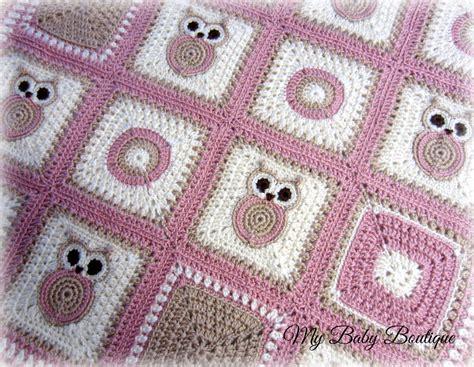 crochet pattern x s and o s x n o s owl baby blanket crochet pattern throw