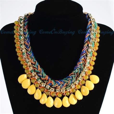 Kalung Style Zara pin by slaja on diy jewerly woven chain
