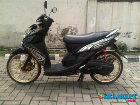 Modifikasi Mio Soul 2010 by Modif Mio Soul Hitam Modifikasi Motor Kawasaki Honda Yamaha