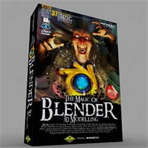 Buku The Magic Of Blender 3d Modelling 37 Total Tutorials Dvd the world s catalog of ideas
