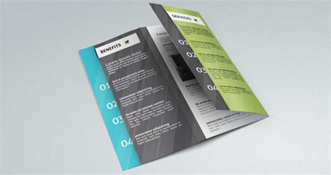Corporate Tri Fold Brochure Template   Brochure Templates