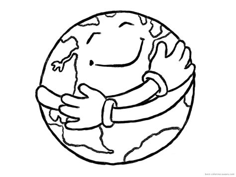 Earth Day Coloring Worksheet