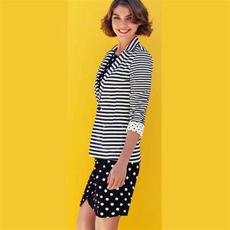 wardrobe fashion women over 60 chic polka dot clothing for women the new black and