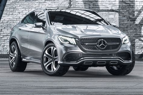 future mercedes benz cars mercedes benz concept coupe suv front view posing photo 31