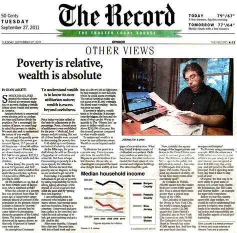 The Record Newspaper New Jersey | silvio laccetti tranquility49 op ed poverty is