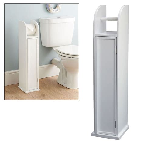 stand up cabinet for bathroom free standing white storage cabinet toilet roll holder