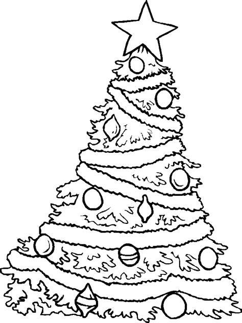 christmas tree clipart coloring page christmas tree color pages coloring home