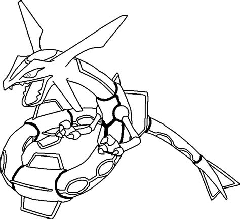 Rayquaza Coloring Pages rayquaza coloring pages coloring home