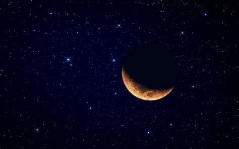 imagenes hd cielo estrellado luna y el cielo estrellado hd 1920x1200 imagenes