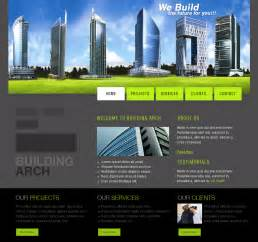 Architectural Template by Web Templates Architecture By Netspy9286 On Deviantart