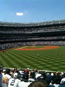 Yankee Stadium Section 203 Row 16 Seat 10 New York