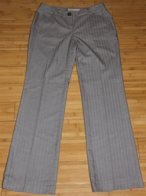juniors black uniform pants with flap back pocket michael by michael kors gray striped dress pants square