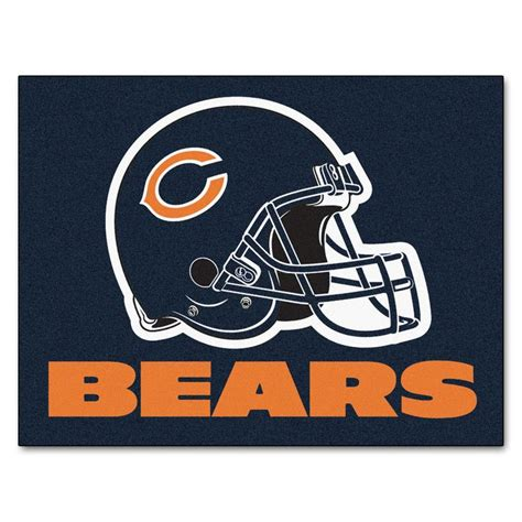 chicago bears rug all mat 34 quot x 45 quot chicago bears 34 and 45