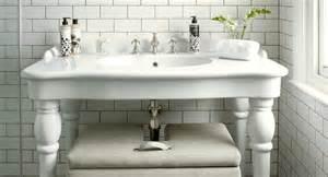 Parisian Pedestal Double Sink Console Double Parisian Pedestal Sink Cottage Bathroom Skonahem