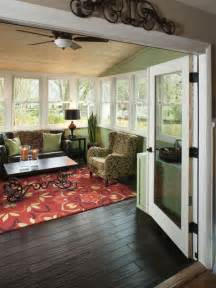 sunroom colors autumn fall colors sunroom decor home decorating trends