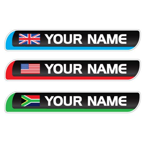 Bike Sticker Name by Bicycle Bicycle Name Stickers