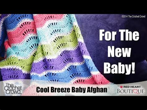 wave pattern youtube baby wave afghan crochet tutorial youtube