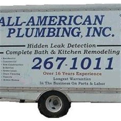 All Plumbing Inc Reviews by All American Plumbing Inc Remodeling Contractor