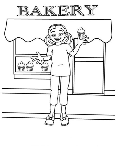 coloring shoo bakery coloring sheets coloring pages