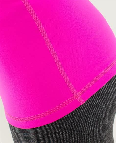 lululemon power y tank luon raspberry glo light lulu