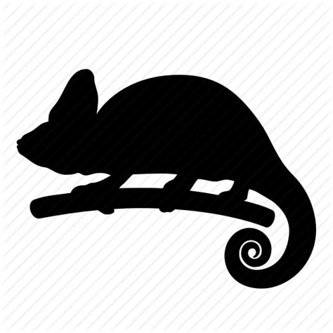 chagne silhouette chameleon silhouette pixshark com images galleries