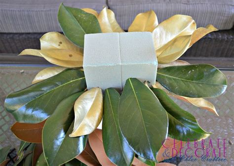 decorating with magnolia leaves hometalk fall decorating cyndi dimanno s