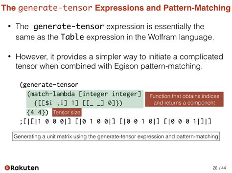 pattern matching notation egison blog scalar and tensor parameters for importing