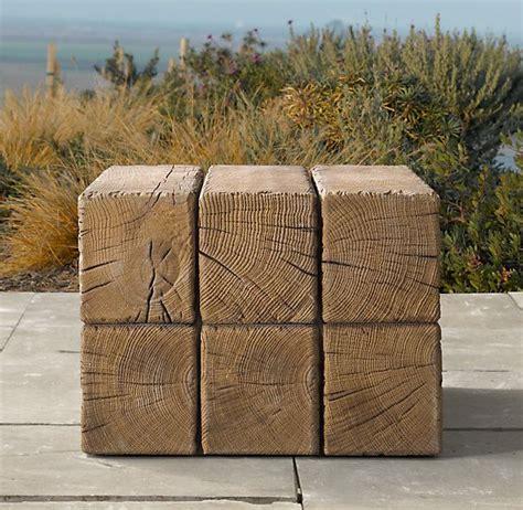 aspen side table restoration hardware furniture