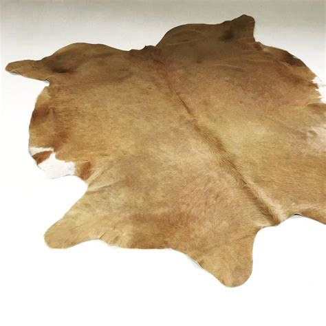 palomino cowhide rug for sale at 1stdibs