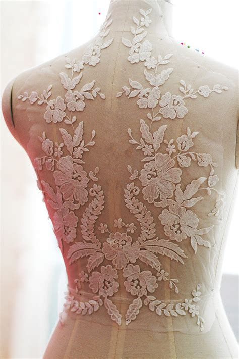 how to sew applique ivory wedding lace applique bridal lace applique for wedding