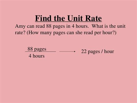 what is in law unit unit rates