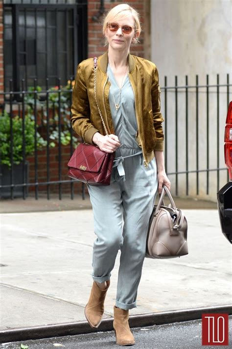 Cate Blanchett And The Of Roger Vivier Shoes by Cate Blanchett In New York City Tom Lorenzo