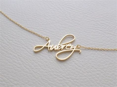 how to make custom gold jewelry best 25 name necklace ideas on bar necklace