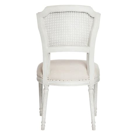 shabby chic dining chairs pair camilla french country white wash shabby chic dining