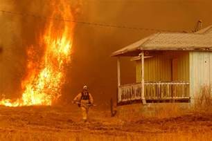 Home Of The Wildland Firefighter by In California One Wildfire Suppressed As Another Blaze