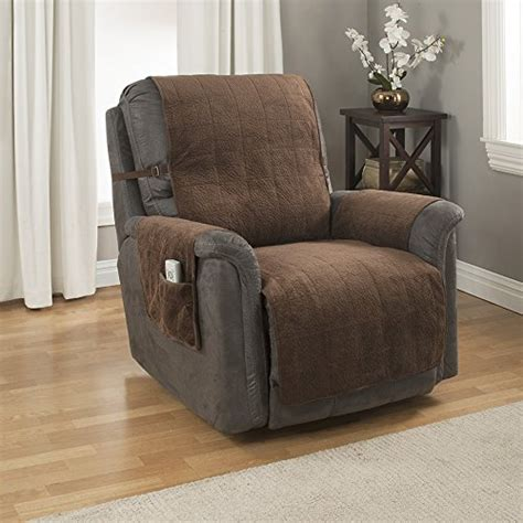 recliners for heavy weight gpd heavy weight microsuede pebbles furniture protector