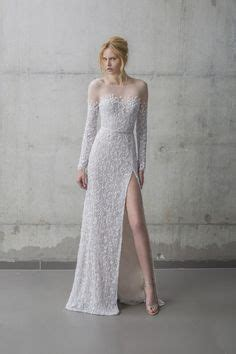 Mira Slit 1000 images about wedding gowns with high leg slits on