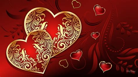 valentines valentines hearts abstract hd walldevil