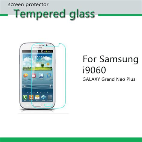 Tempered Glass Grand Neo Plus tempered glass for samsung i9060 galaxy grand neo plus vidrio templado protector de
