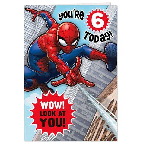 Spider Man Amazing Hero Th  Ee  Birthday Ee   Pop Up  Ee  Birthday Ee   Card
