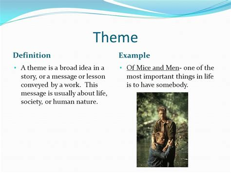 broader themes definition guide to literary techniques and movements i ppt video