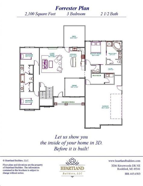 lovely michigan home builders floor plans new home plans