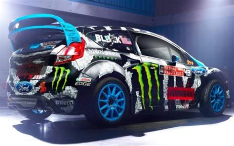 Topi Trucker Dmassiv ken block s 2014 global rallycross ford st adds