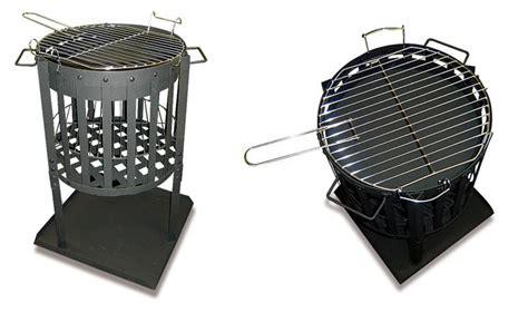 feuerkorb und grill feuerkorb design 2 in 1 bbq grill feuerstelle feuerschale