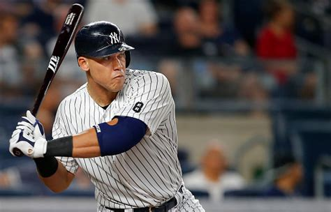 aaron judge named al rookie of the month bronx
