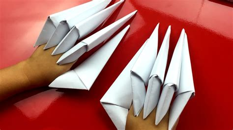Origami Finger Claws - origami for archives for hub
