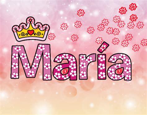 imagenes de i love you con nombres dibujo de nombre maria pintado por elsa88829 en dibujos
