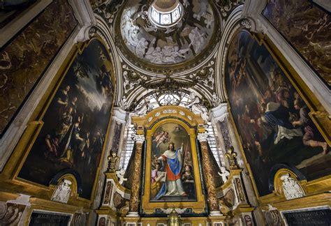interno roma visitare la chiesa di san luigi dei francesi a roma port