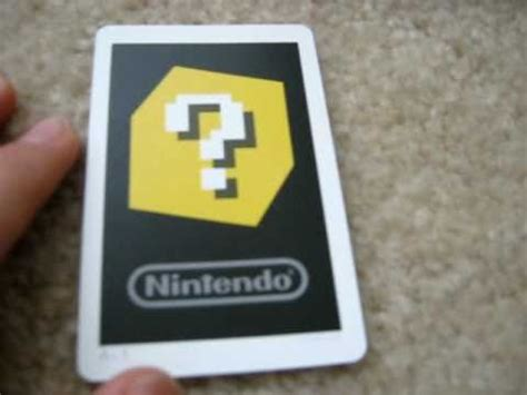 3ds Gift Card - how ar cards work and what the 3ds menu looks like youtube